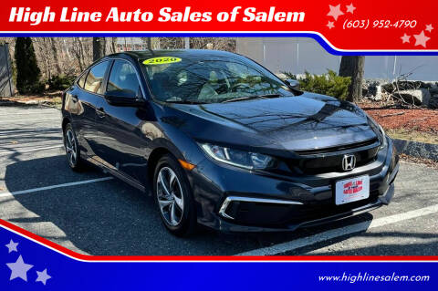 2020 Honda Civic for sale at High Line Auto Sales of Salem in Salem NH