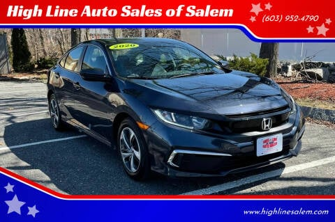 2020 Honda Civic for sale at High Line Auto Sales of Salem in Salem NH