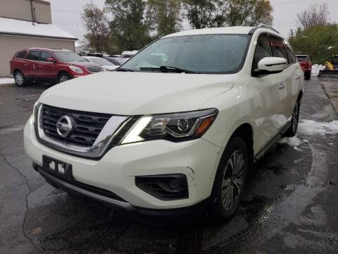 2017 Nissan Pathfinder for sale at MIDWEST CAR SEARCH in Fridley MN