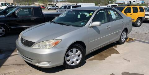 2003 Toyota Camry for sale at Bailey's Auto Sales in Cloverdale VA