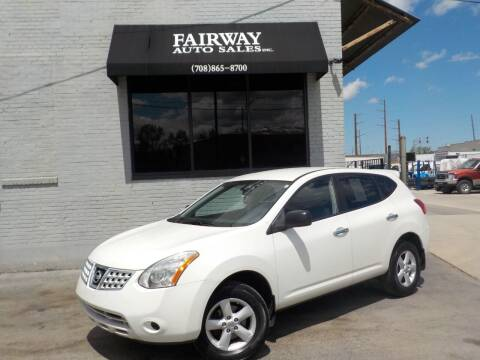 2010 Nissan Rogue for sale at FAIRWAY AUTO SALES, INC. in Melrose Park IL