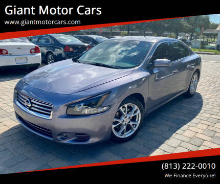 2014 Nissan Maxima for sale at Giant Motor Cars in Tampa FL