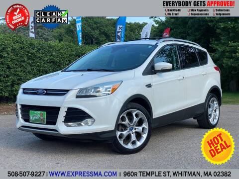 2013 Ford Escape for sale at Auto Sales Express in Whitman MA