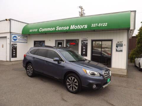 2015 Subaru Outback for sale at Common Sense Motors in Spokane WA