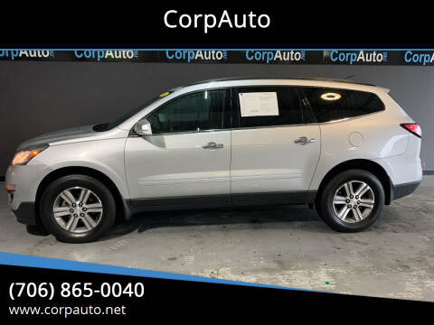 2016 Chevrolet Traverse for sale at CorpAuto in Cleveland GA