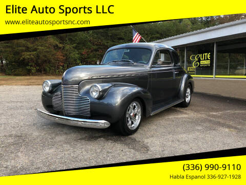 1940 Chevrolet Street Rod for sale at Elite Auto Sports LLC in Wilkesboro NC