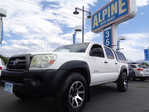 2009 Toyota Tacoma for sale at Alpine Auto Sales in Salt Lake City UT