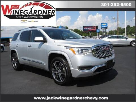 2017 GMC Acadia for sale at Winegardner Auto Sales in Prince Frederick MD