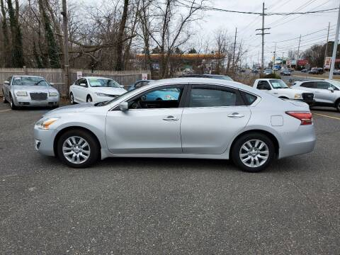 2015 Nissan Altima for sale at CANDOR INC in Toms River NJ