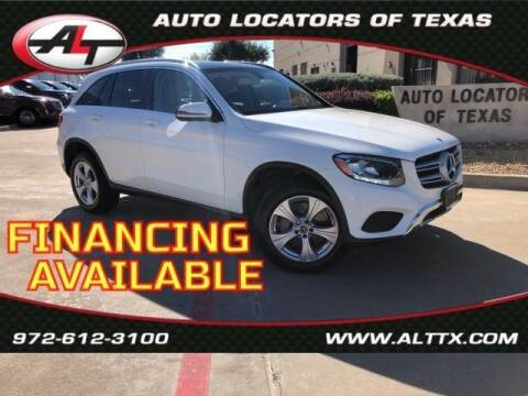 2018 Mercedes-Benz GLC for sale at AUTO LOCATORS OF TEXAS in Plano TX
