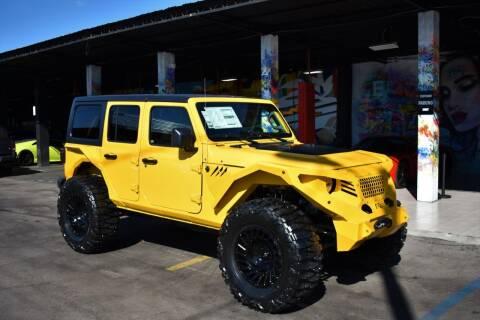 2021 Jeep Wrangler Unlimited for sale at STS Automotive - Miami, FL in Miami FL