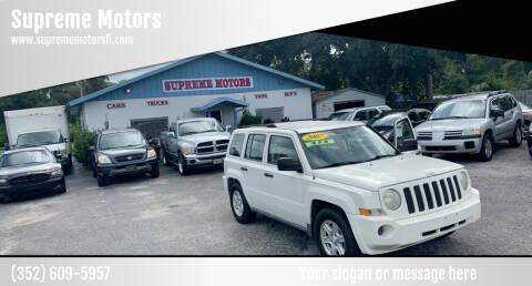 2007 Jeep Patriot for sale at Supreme Motors in Tavares FL