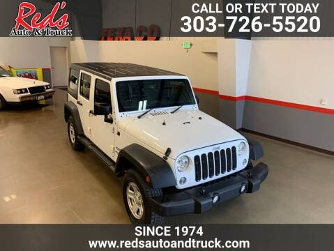 2017 Jeep Wrangler Unlimited for sale at Red's Auto and Truck in Longmont CO