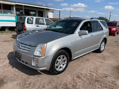 2007 Cadillac SRX for sale at PYRAMID MOTORS - Fountain Lot in Fountain CO