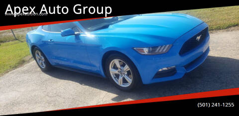 2017 Ford Mustang for sale at Apex Auto Group in Cabot AR