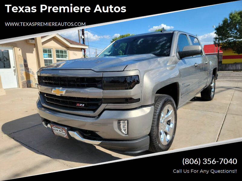 2017 Chevrolet Silverado 1500 for sale at Texas Premiere Autos in Amarillo TX