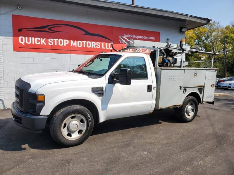 2008 Ford F-350 Super Duty for sale at Quick Stop Motors in Kansas City MO