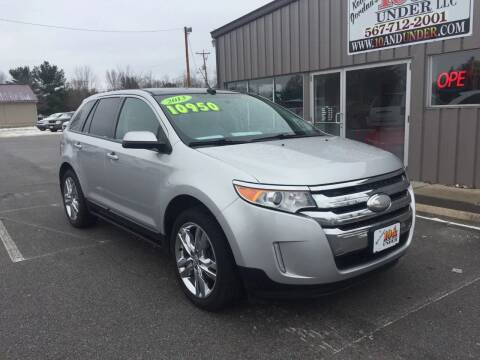 2013 Ford Edge for sale at KEITH JORDAN'S 10 & UNDER in Lima OH
