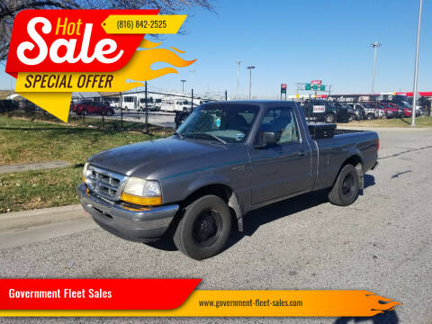 1998 Ford Ranger for sale at Government Fleet Sales in Kansas City MO