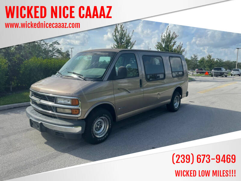 1999 Chevrolet Express Cargo for sale at WICKED NICE CAAAZ in Cape Coral FL