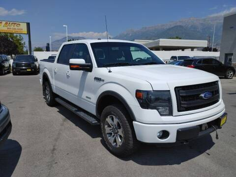 2013 Ford F-150 for sale at Canyon Auto Sales in Orem UT