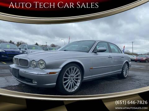 2005 Jaguar XJR for sale at Auto Tech Car Sales in Saint Paul MN