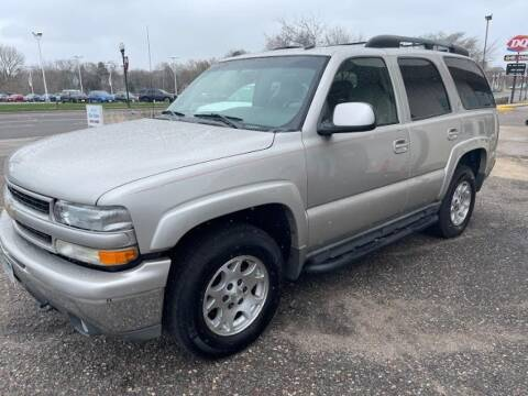 2005 Chevrolet Tahoe for sale at CHRISTIAN AUTO SALES in Anoka MN