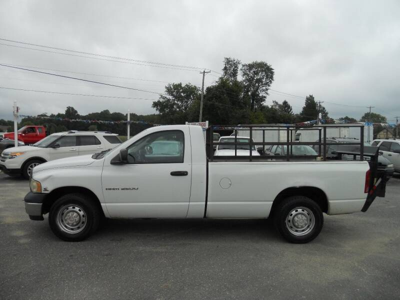 2004 Dodge Ram Pickup 2500 for sale at All Cars and Trucks in Buena NJ