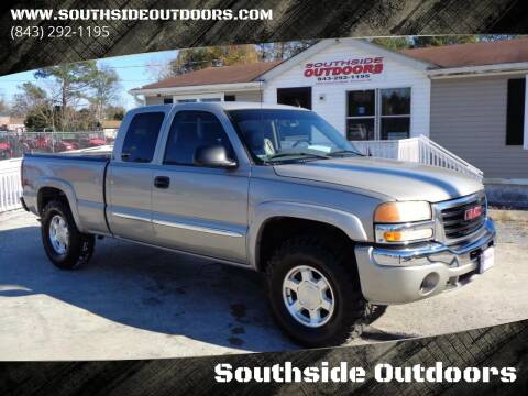 2007 GMC Sierra 1500 Classic for sale at Southside Outdoors in Turbeville SC
