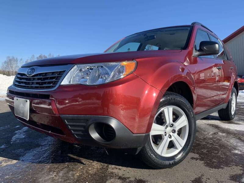 2010 Subaru Forester for sale at LUXURY IMPORTS in Hermantown MN