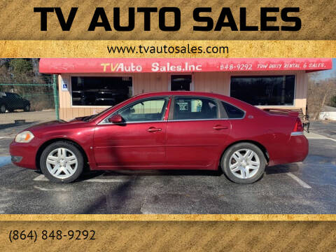 2006 Chevrolet Impala for sale at TV Auto Sales in Greer SC