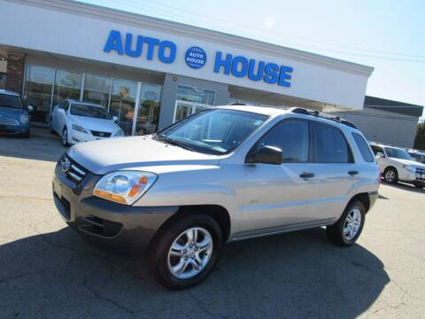 2006 Kia Sportage for sale at Auto House Motors in Downers Grove IL