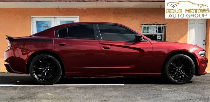 2018 Dodge Charger for sale at Gold Motors Auto Group Inc in Tampa FL
