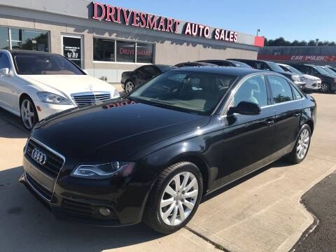 2012 Audi A4 for sale at DriveSmart Auto Sales in West Chester OH