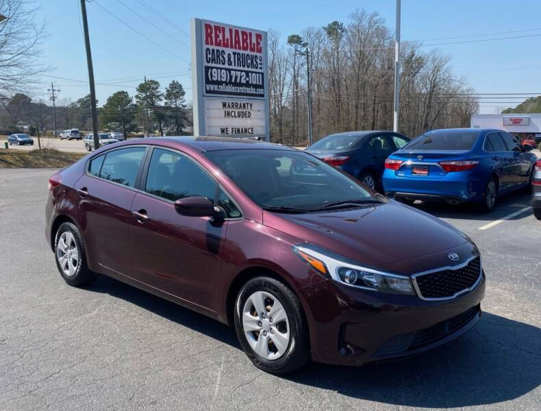 2017 Kia Forte for sale at Reliable Cars & Trucks LLC in Raleigh NC