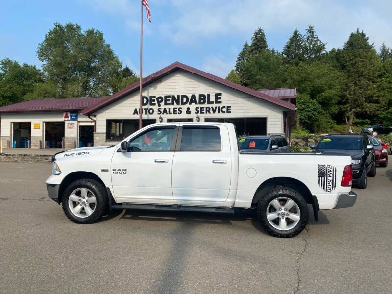 2016 RAM Ram Pickup 1500 for sale at Dependable Auto Sales and Service in Binghamton NY