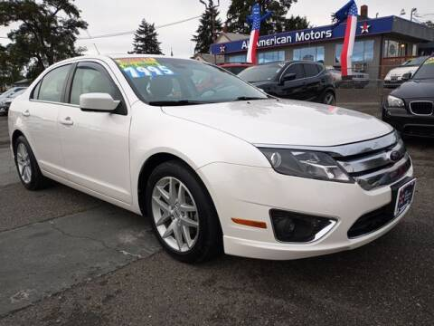 2012 Ford Fusion for sale at All American Motors in Tacoma WA