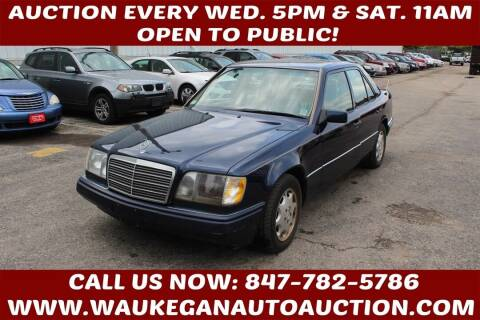 1995 Mercedes-Benz E-Class for sale at Waukegan Auto Auction in Waukegan IL