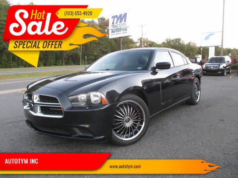 2014 Dodge Charger for sale at AUTOTYM INC in Fredericksburg VA