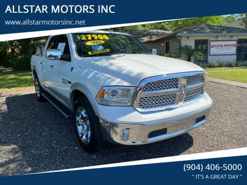 2015 RAM Ram Pickup 1500 for sale at ALLSTAR MOTORS INC in Middleburg FL