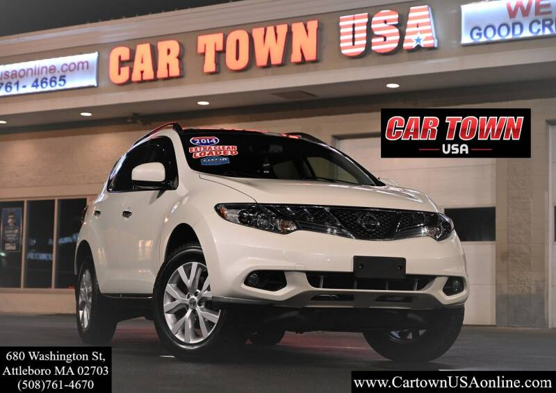 2014 Nissan Murano for sale at Car Town USA in Attleboro MA