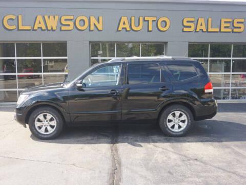 2009 Kia Borrego for sale at Clawson Auto Sales in Clawson MI