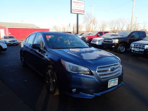2017 Subaru Legacy for sale at Marty's Auto Sales in Savage MN