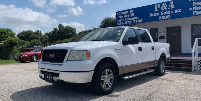 2006 Ford F-150 for sale at P & A AUTO SALES in Houston TX