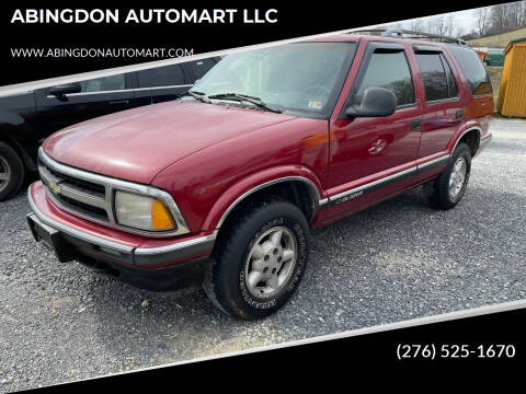 1995 Chevrolet Blazer for sale at ABINGDON AUTOMART LLC in Abingdon VA