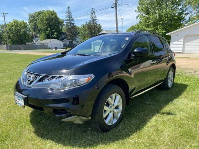 2012 Nissan Murano for sale at Victoria Auto Sales in Victoria MN