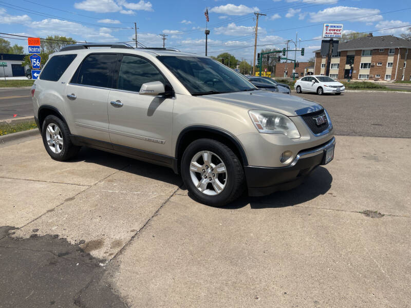 2007 GMC Acadia for sale at TOWER AUTO MART in Minneapolis MN