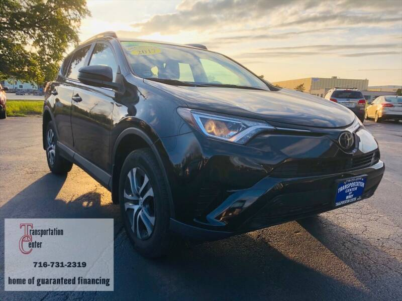 2017 Toyota RAV4 for sale at Transportation Center Of Western New York in Niagara Falls NY