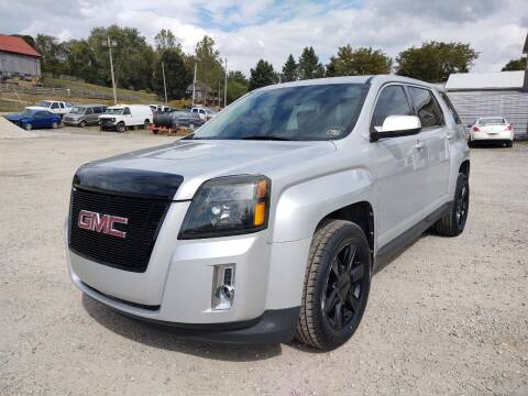 2012 GMC Terrain for sale at G & H Automotive in Mount Pleasant PA