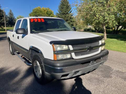 2005 Chevrolet Silverado 1500 for sale at BELOW BOOK AUTO SALES in Idaho Falls ID